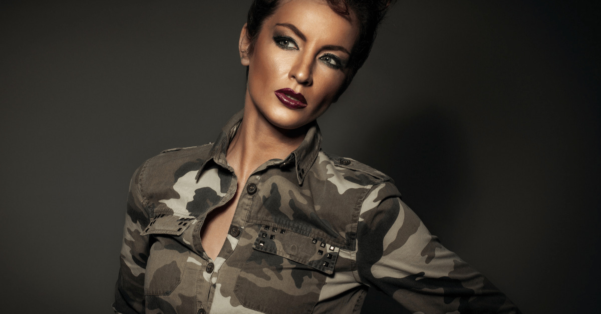 Camo Style 90er Trend Camouflage Mode Fashion