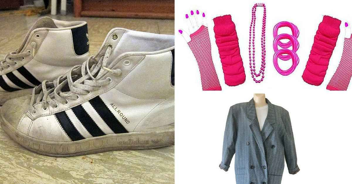Typische 80er Kleidung