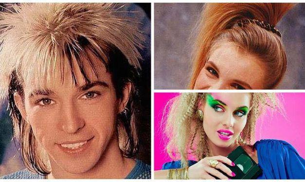 trendfrisuren der 80er