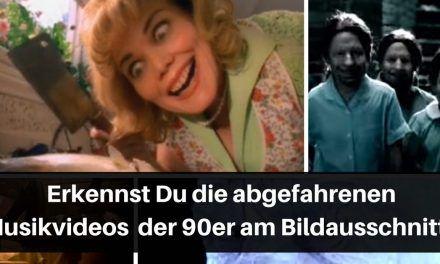 Musikvideo der 90er Titelbild