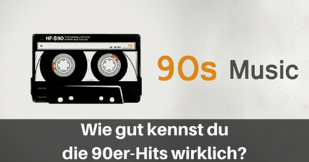 90er Hits Textzeile Quiz
