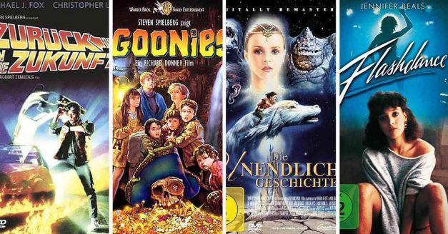 Die legendären Filme der 80er