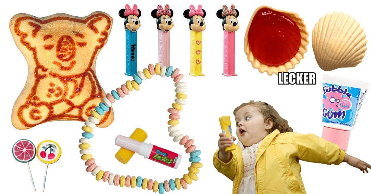 Süßigkeiten 90er Jahre