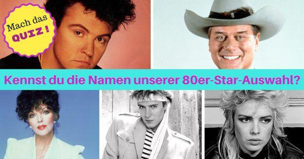 80er Stars Quiz