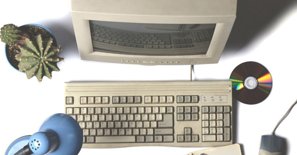 PC Kind 90er