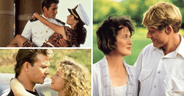 Die 12 unvergleichlichsten Liebesfilme der 80er