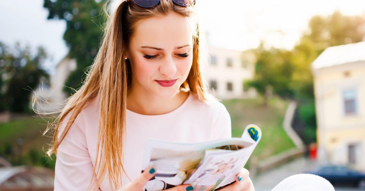Bravo Magazin Fakten Lesen Mädchen