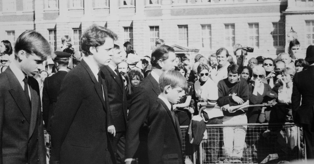 Lady Diana Prinzessin Beerdigung