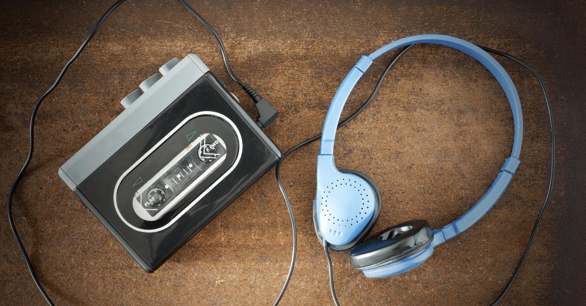 Walkman Musik Damals