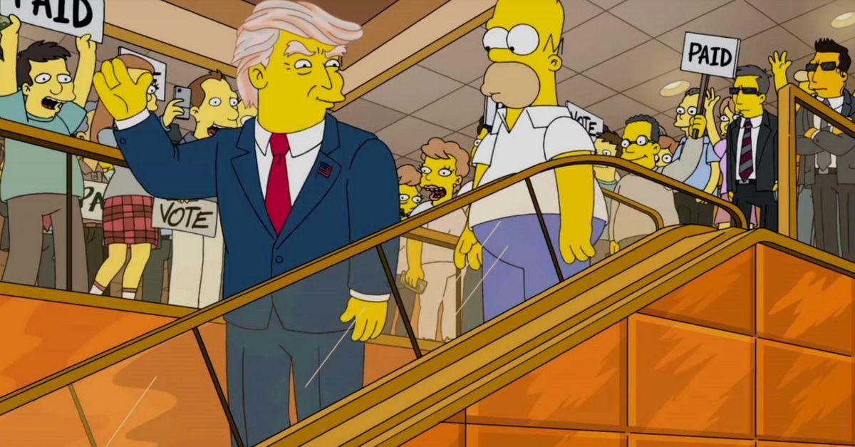 Vorhersagen Der Simpsons