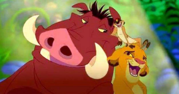 Das Dschungelbuch - Timon und Pumbaa