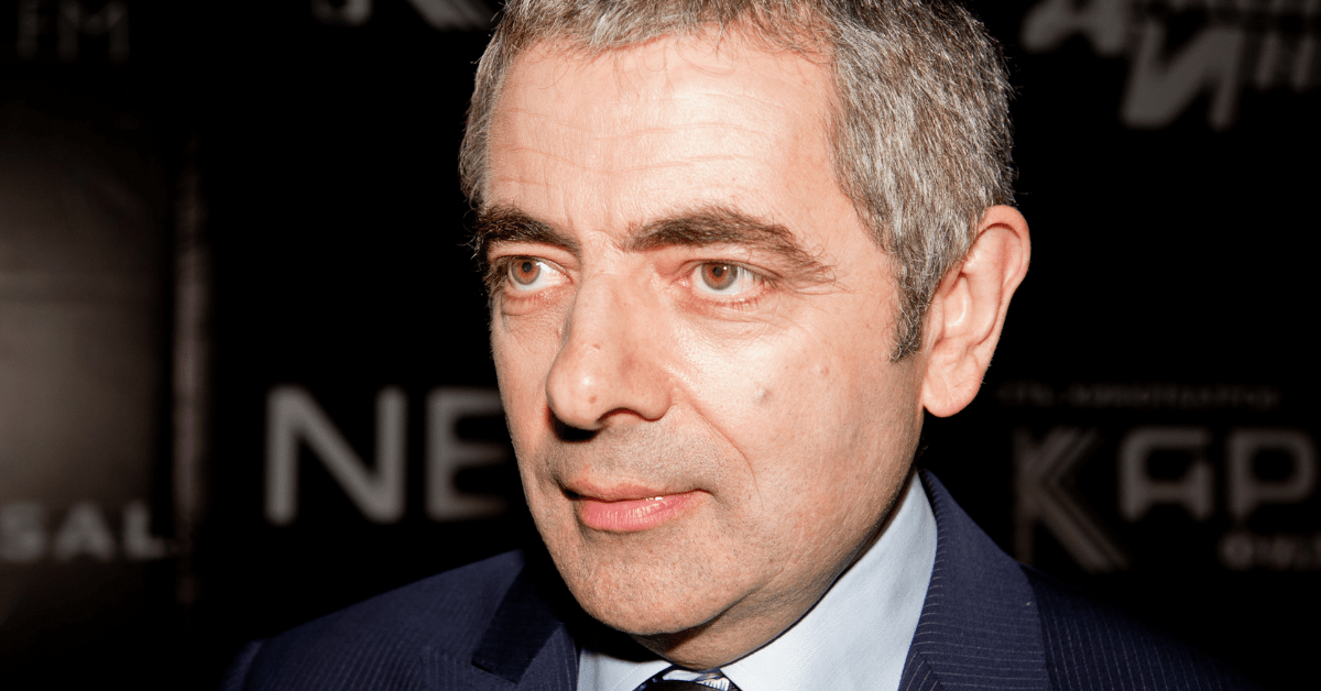 Rowan Atkinson Mr Beans Johnny English