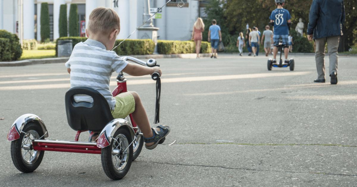 Dreirad Fahren Spielzeug