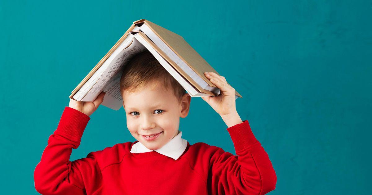 Klassenbuch Eintrag Schule Junge