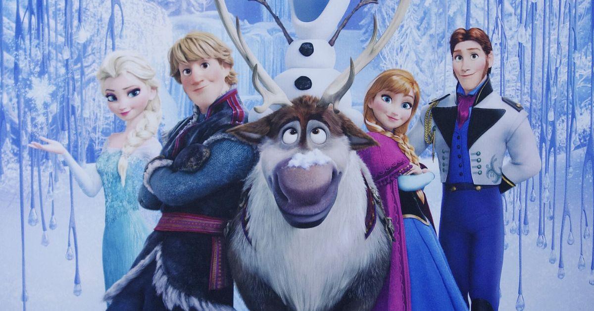 Frozen Elsa Anna Disney
