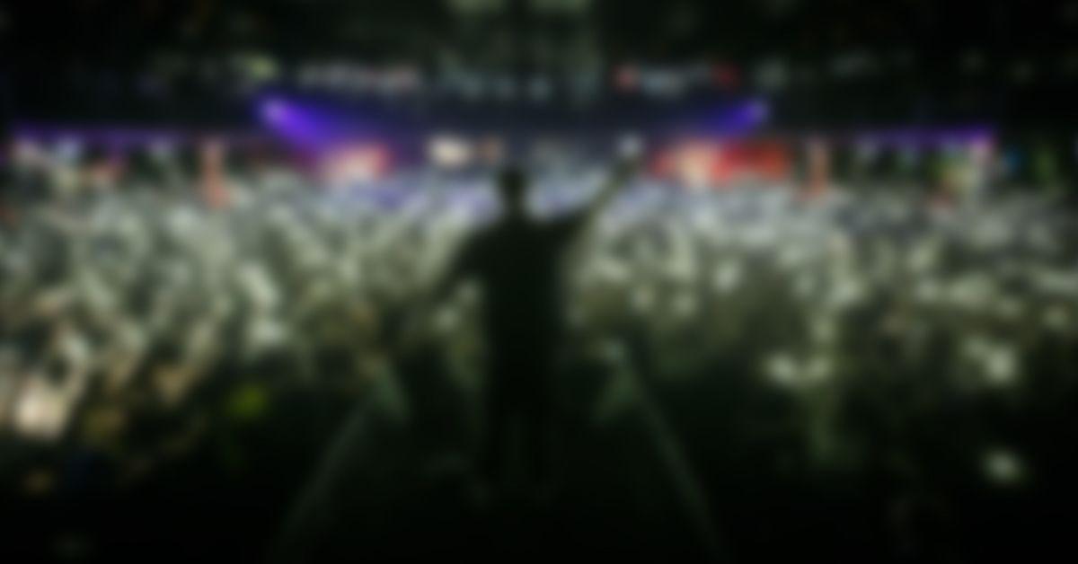 Rap Bühne Auftritt
