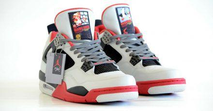 Air Jordan 4 im Nintendo Design