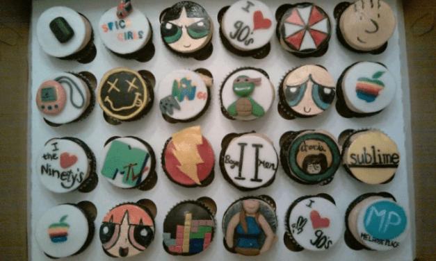 90er Cupcakes