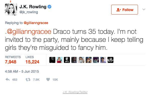 Rowling Twitter