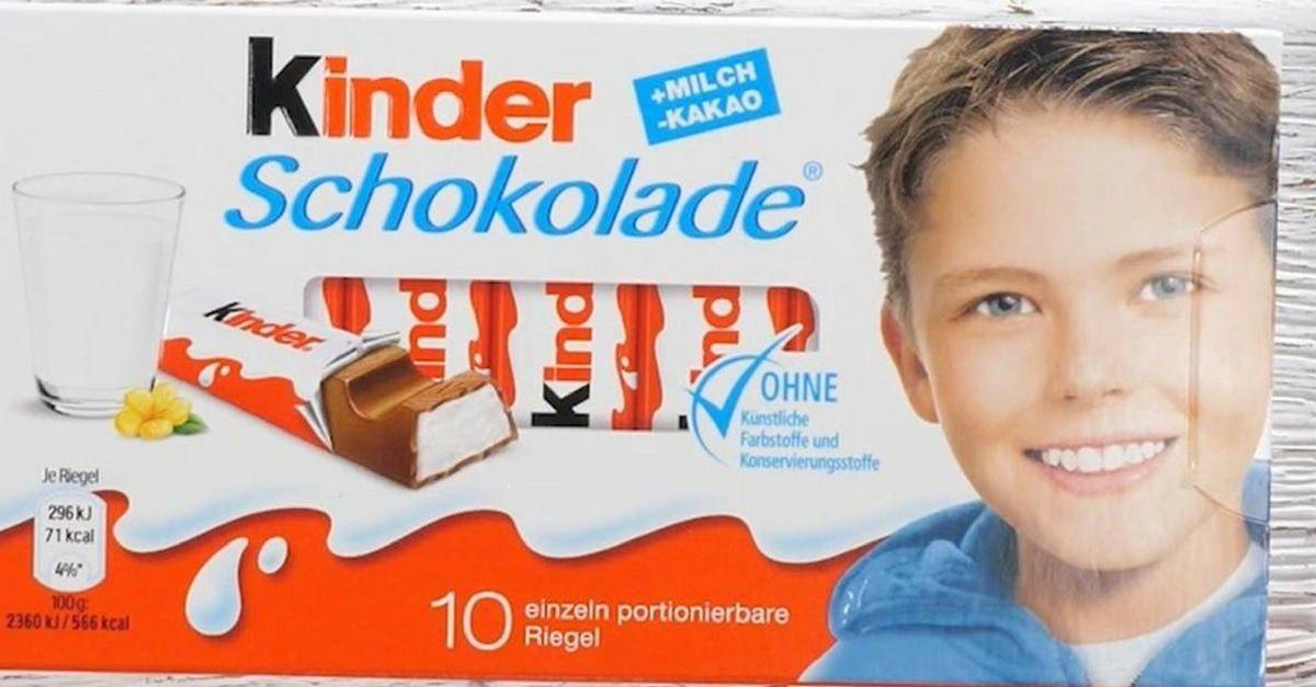 Kinderschokoladen-Junge