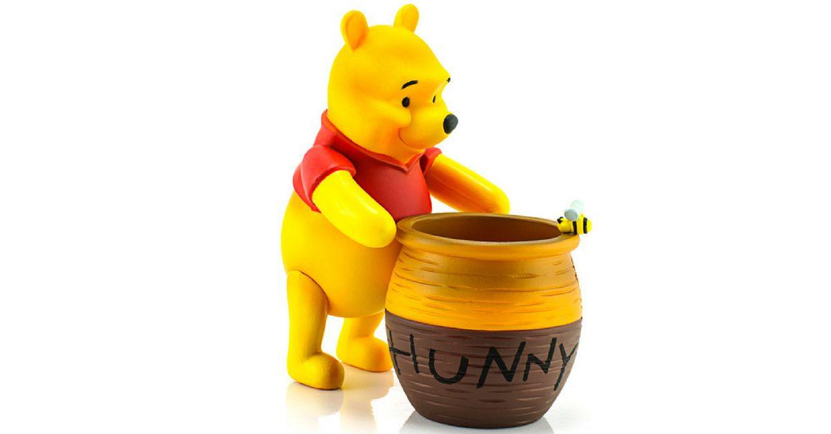 Dafür stehen die Charaktere aus Winnie Pooh wirklich!