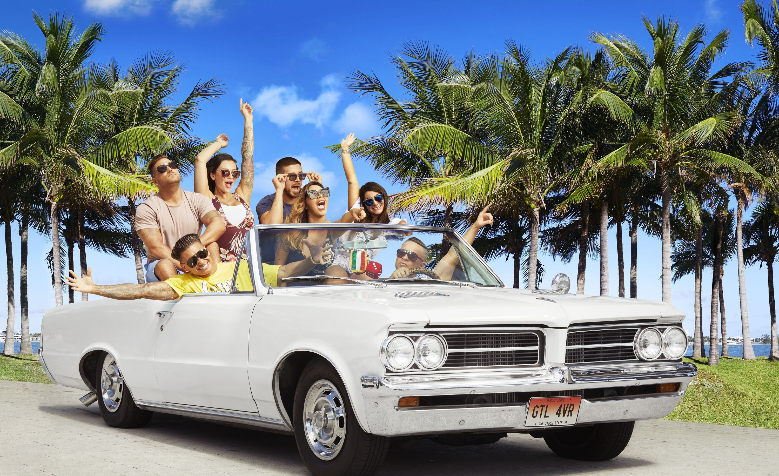 Jersey Shore Vacation Car