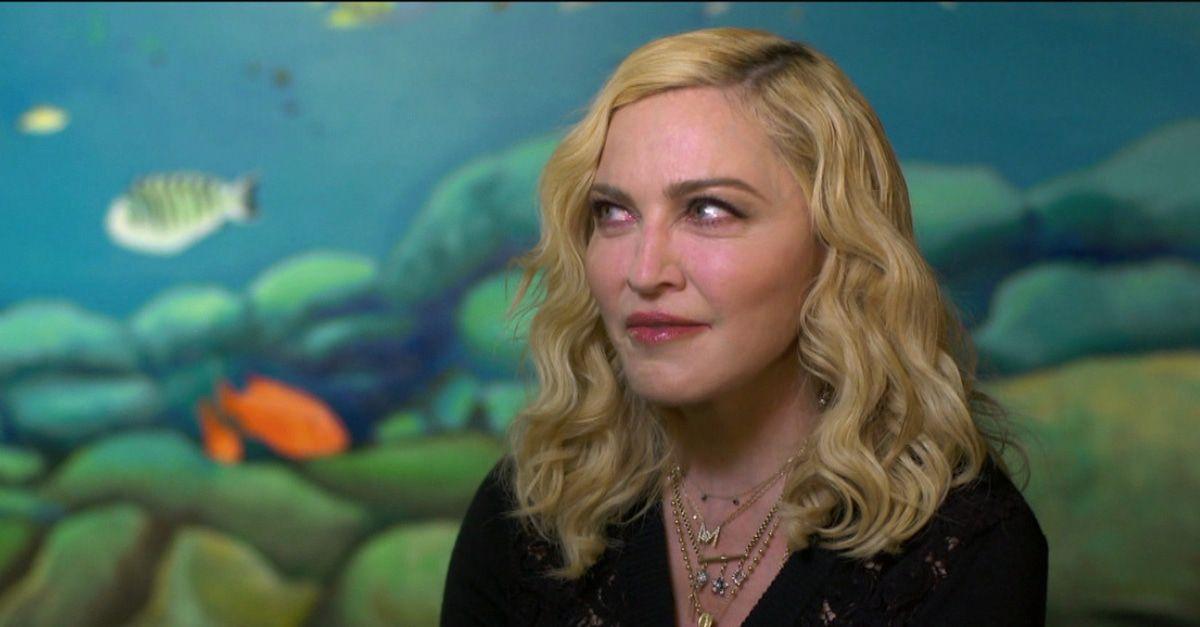 Madonna wird alt