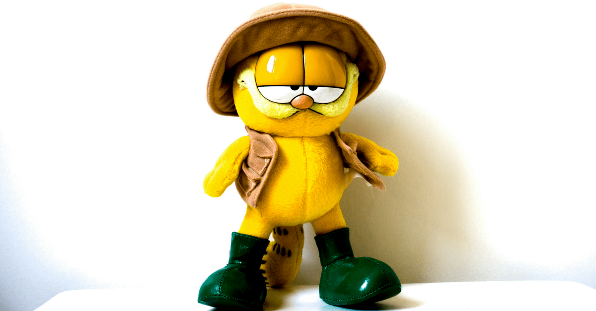 Garfield DIY Malen