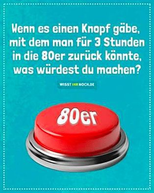 Knopf 80er