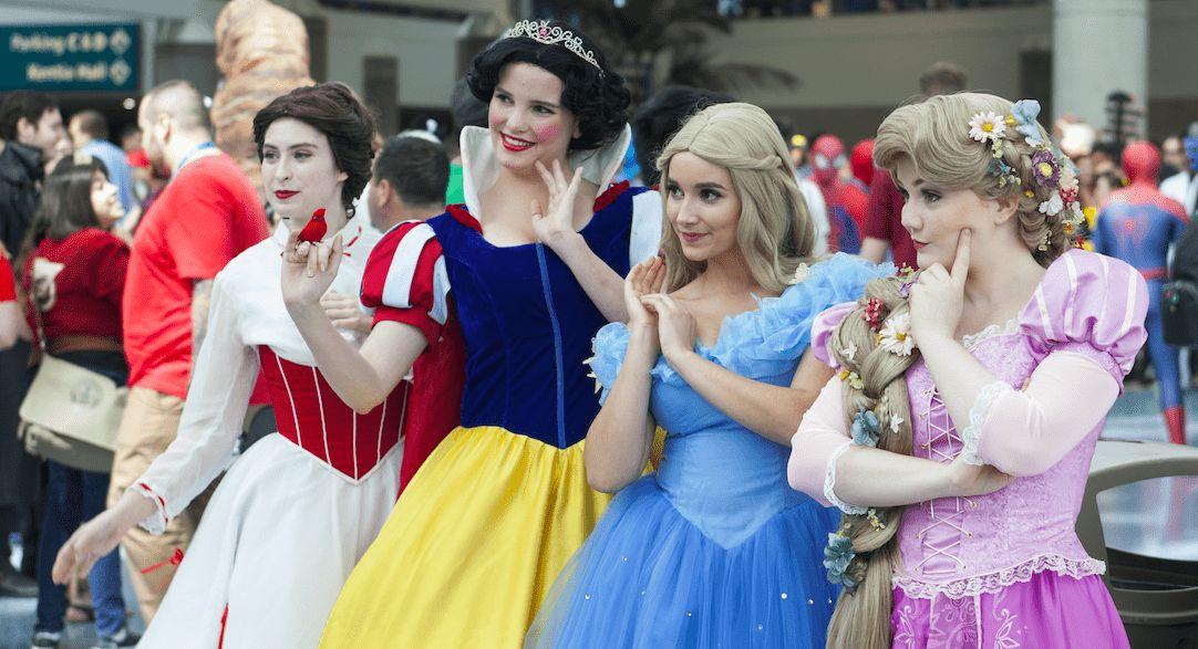 Disney-Charaktere als Anime-Figuren