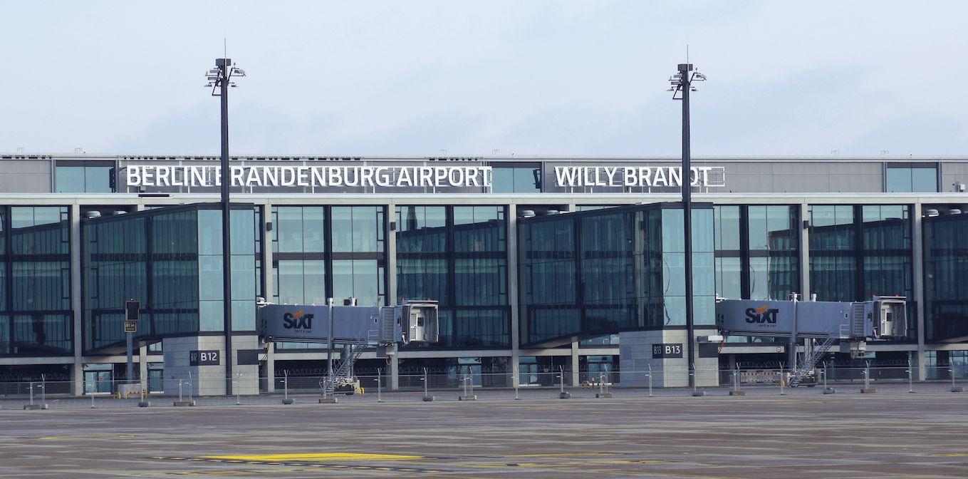 Die Welt beim Baubeginn des Fluhafens Berlin Brandenburg