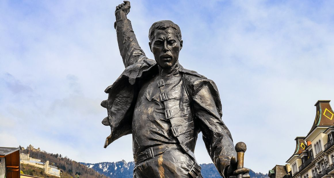 Intime Freddie Mercury-Bilder