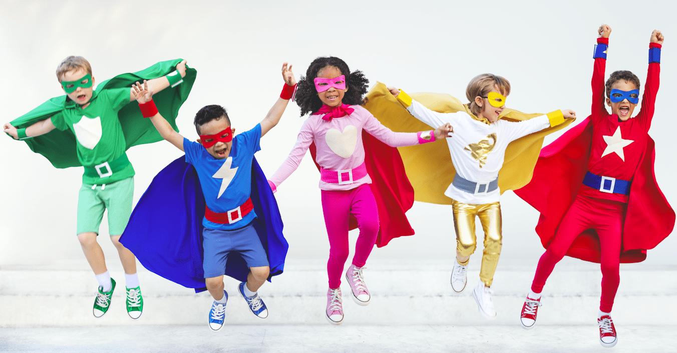 Superhelden Kinder