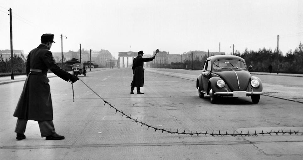 West- und Ost-Berlin 80er