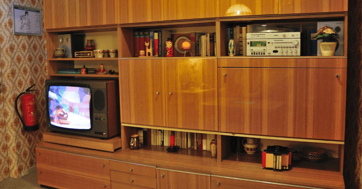 DDR Damals Wohnung Zimmer Raum Früher