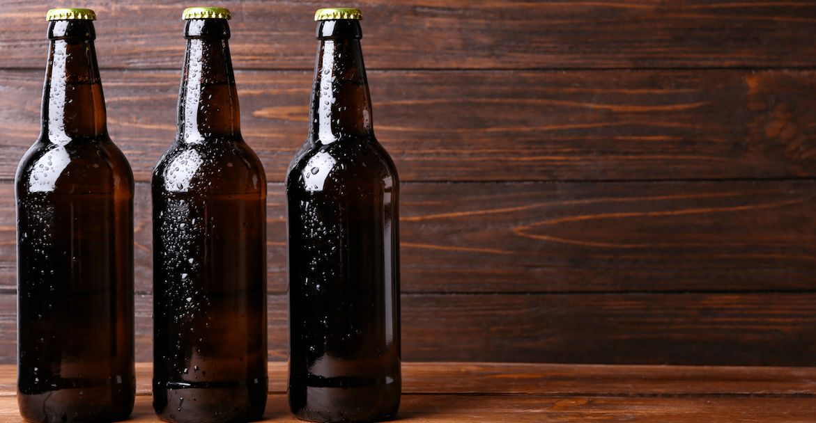 Bierflasche öffnen