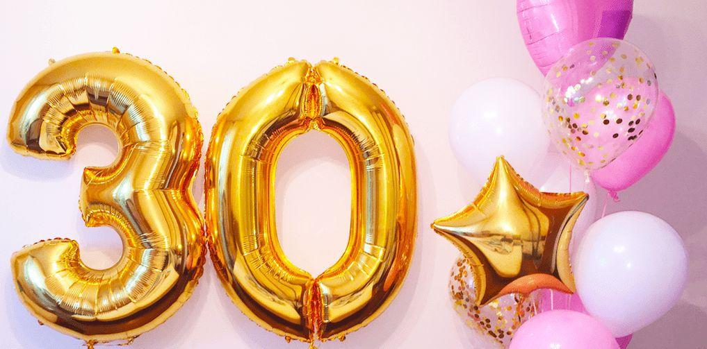 Dreißigster Geburtstag