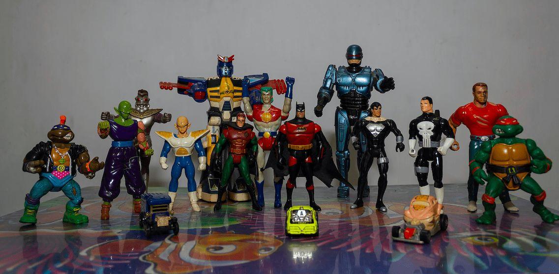 Seltene Spielzeuge 80er