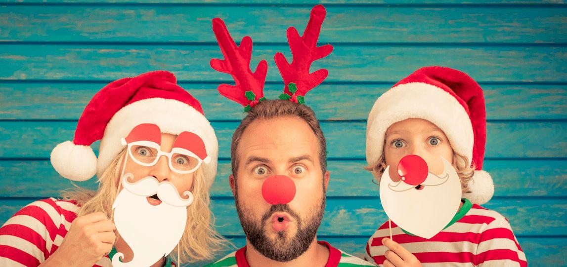 Witzige Weihnachtskarten
