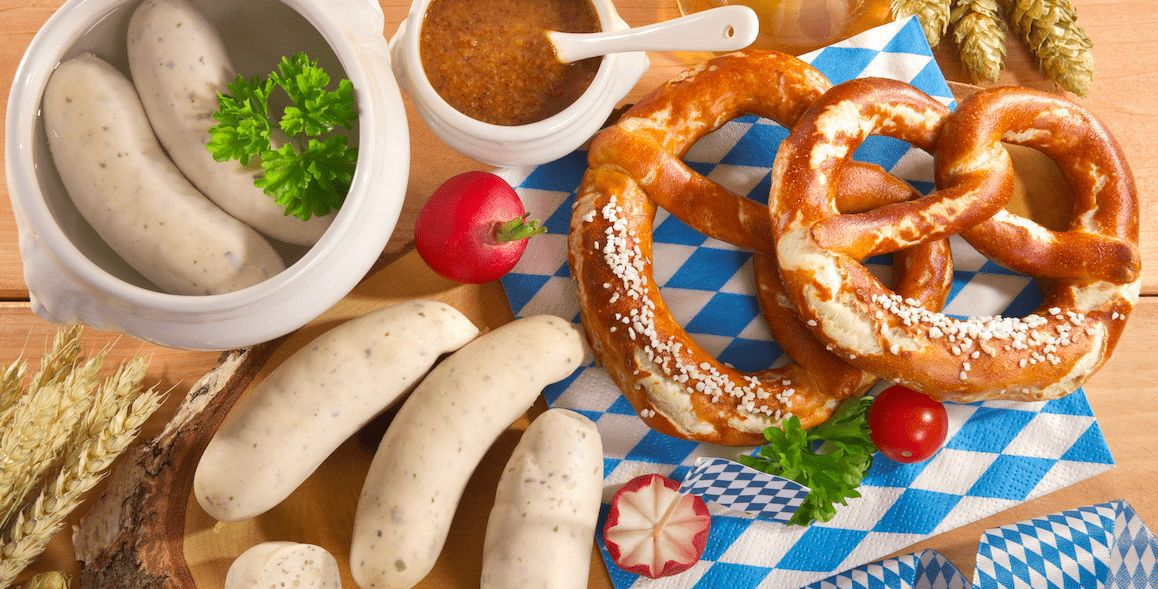 Typische Gerichte aus Deutschland