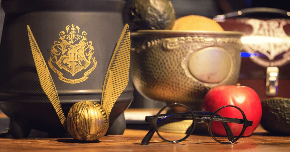 Harry Potter HP Quidditch Goldener Schnatz