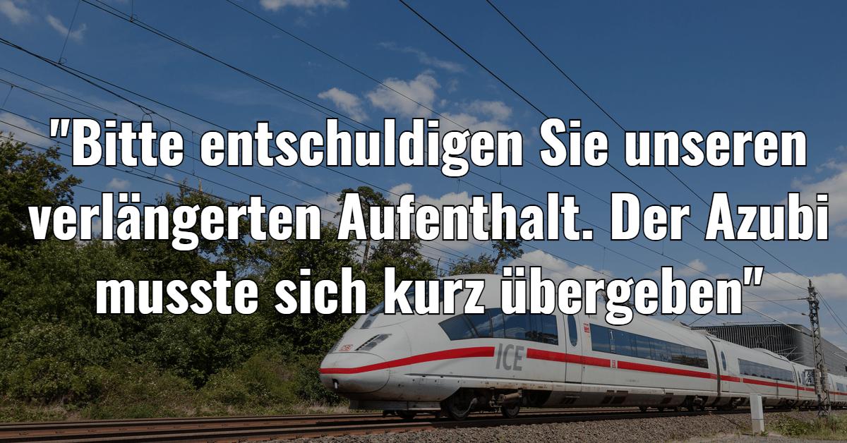 16 grandiose Durchsagen der Deutschen Bahn, die pendeln deutlich lustiger machen!