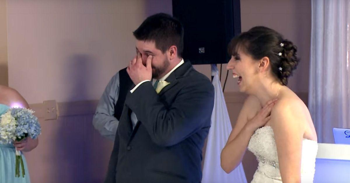 Das passiert, wenn ein Mitglied der Backstreet Boys eine Hochzeit besucht!