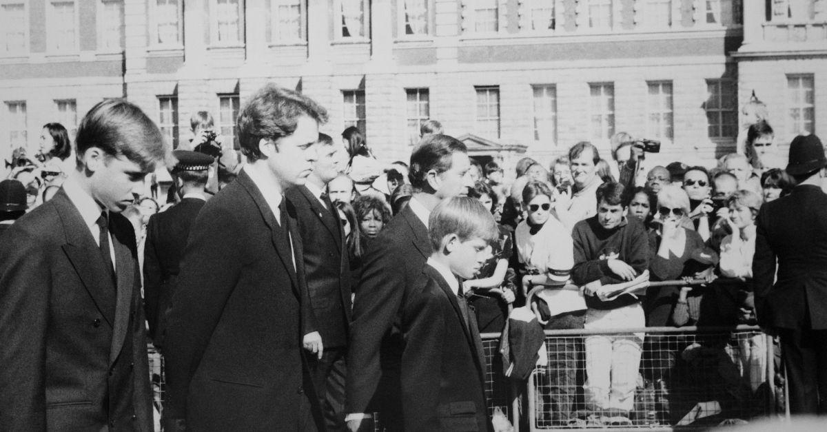 Trauerfeier Lady Diana