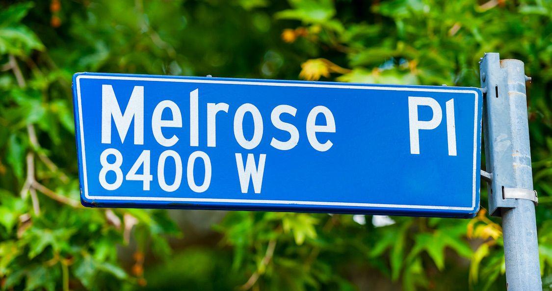 Melrose Place damals heute