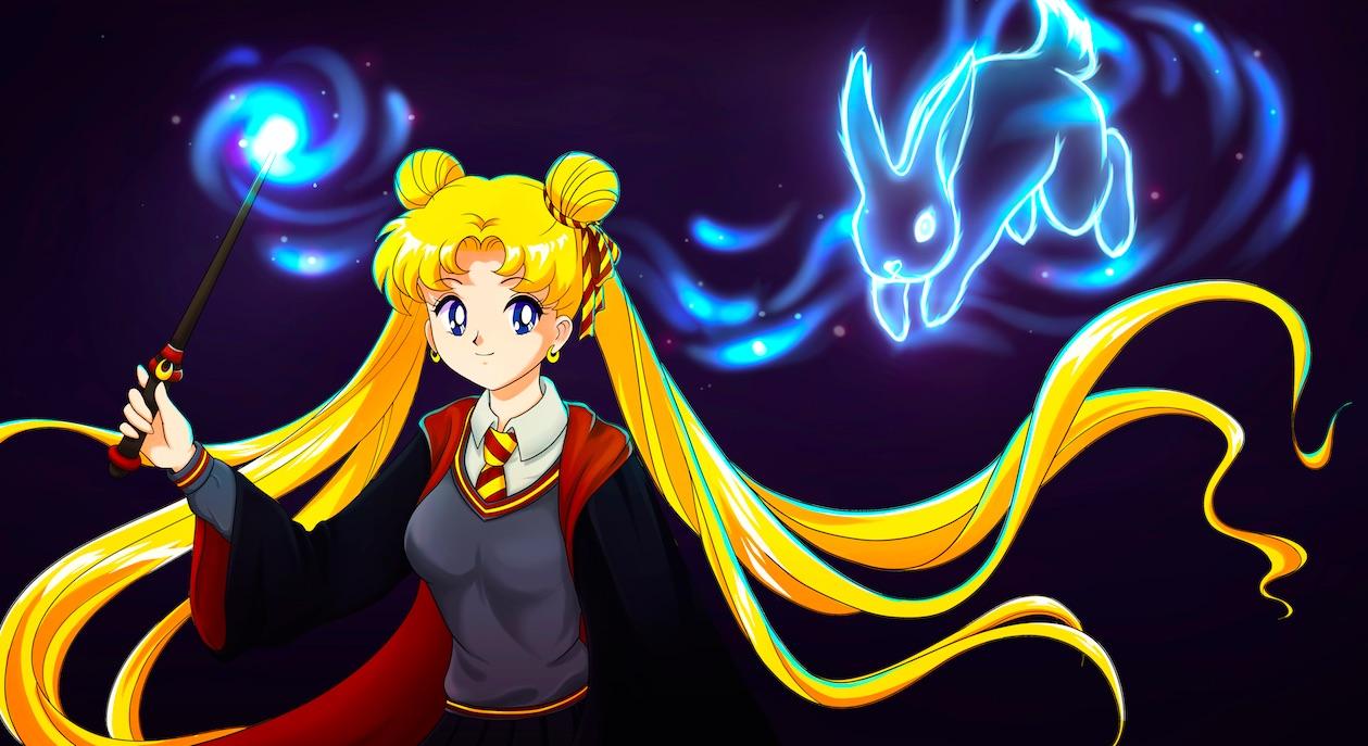 Das passiert, wenn Dragonball Z auf Sailor Moon trifft.
