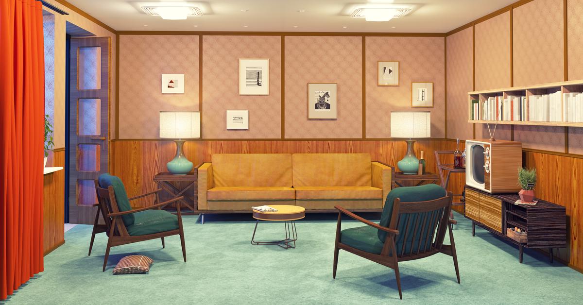 70er Jahre Zimmer