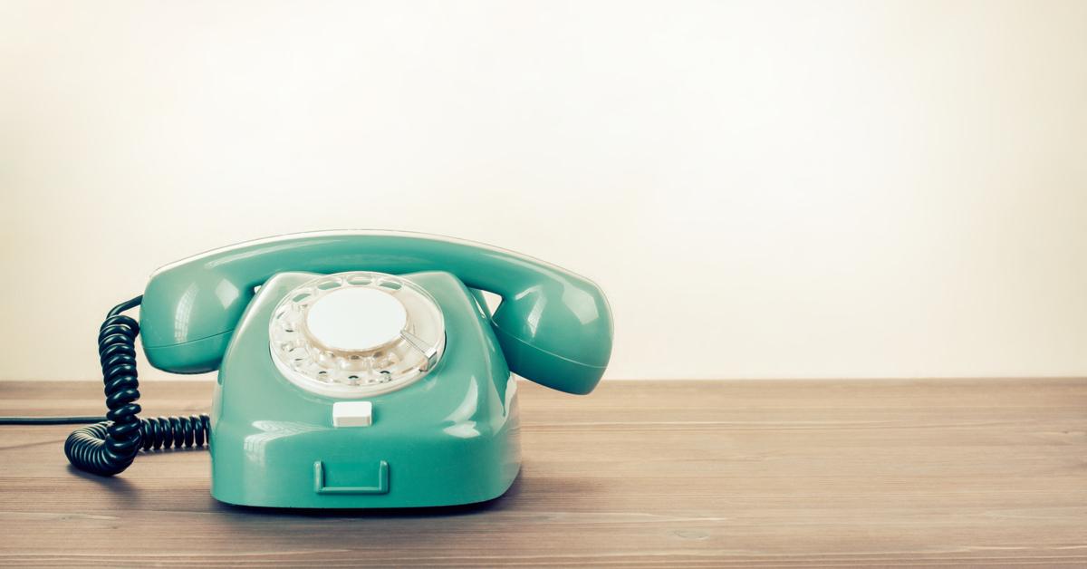 Wählscheiben Telefon