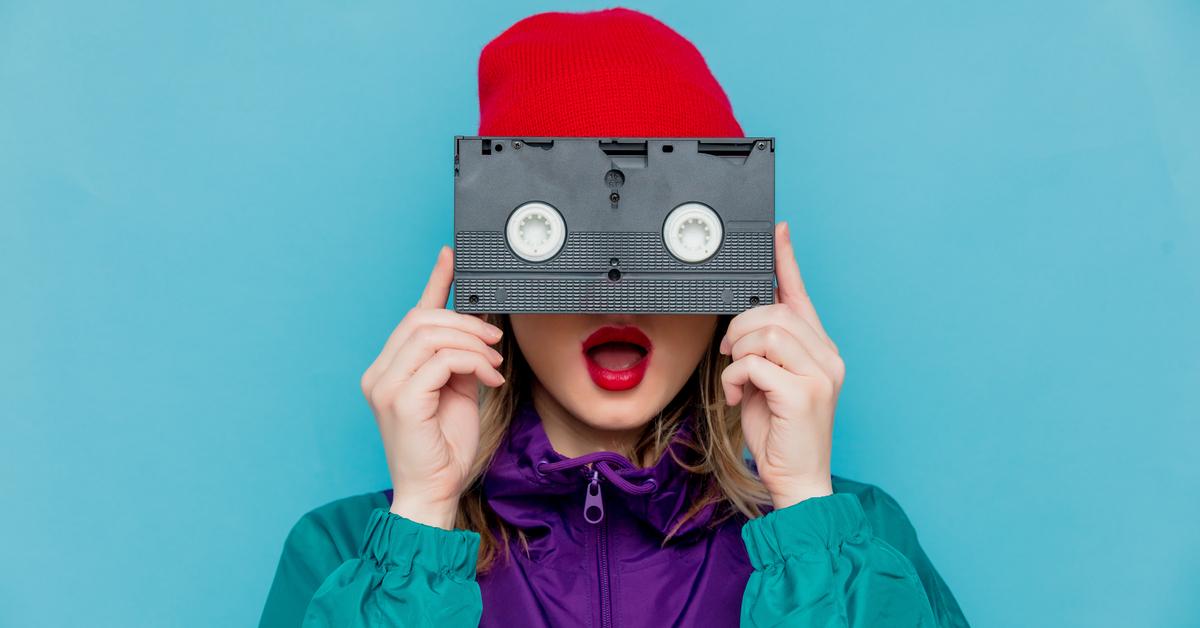 vhs tape kassette